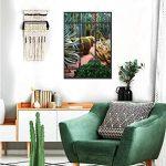 Sticker mural trompe l'oeil Verrière Cactus de la marque STC image 1 produit