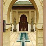 Sticker Porte Orientale Déco Fontaine SAPP0061 (93x204cm) de la marque PPA-DESIGN image 1 produit