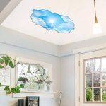Stickers adhésifs Effet 3D | Sticker Autocollant Ciel et Soleil- Décoration Murale Trompe L'œil Chambre et Salon - 60 x 90 cm de la marque Ambiance Sticker image 2 produit