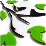 Stickers Arbre Mural, 3D Stickers Muraux Cristal en Acrylique Arbre avec des Branches Incurvées et des Cadres de Photo pour Décoration de la Maison (Branche gauche) de la marque AmberH image 1 produit