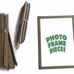 Stickers Arbre Mural, 3D Stickers Muraux Cristal en Acrylique Arbre avec des Branches Incurvées et des Cadres de Photo pour Décoration de la Maison (Branche gauche) de la marque AmberH image 4 produit