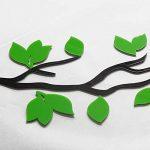 Stickers Arbre Mural, 3D Stickers Muraux Cristal en Acrylique Arbre avec des Branches Incurvées et des Cadres de Photo pour Décoration de la Maison (Oiseau) de la marque AmberH image 1 produit