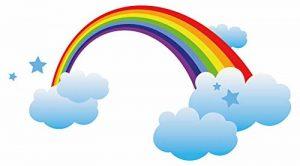 stickers arc en ciel TOP 6 image 0 produit
