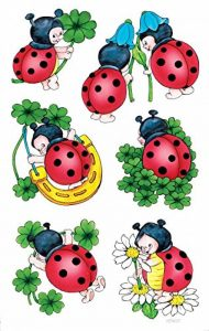 stickers coccinelle TOP 0 image 0 produit