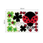 stickers coccinelle TOP 3 image 3 produit