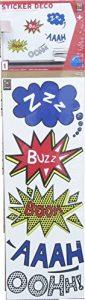 stickers comics TOP 3 image 0 produit