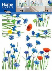 Stickers Fenêtres Champ de bleuets (COPPIETERS VAN CAUWENBERGHE ) Nouvelles Images de la marque NOUVELLES-IMAGES image 0 produit