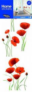 Stickers Fenêtres Coquelicots rouges (COPPIETERS VAN CAUWENBERGHE) Nouvelles Images de la marque NOUVELLES-IMAGES image 0 produit