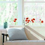 Stickers Fenêtres Coquelicots rouges (COPPIETERS VAN CAUWENBERGHE) Nouvelles Images de la marque NOUVELLES-IMAGES image 1 produit