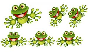 stickers grenouille TOP 3 image 0 produit