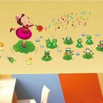 stickers grenouille TOP 5 image 1 produit