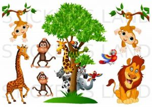 stickers jungle TOP 11 image 0 produit