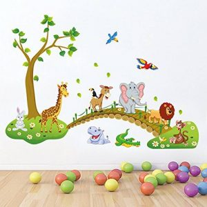 stickers jungle TOP 12 image 0 produit