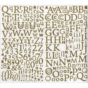 stickers lettres TOP 1 image 0 produit