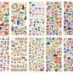 stickers lettres TOP 11 image 1 produit