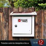stickers lettres TOP 14 image 4 produit