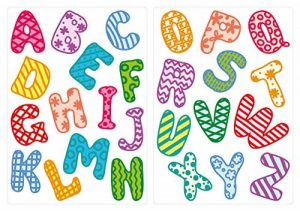 stickers lettres TOP 5 image 0 produit