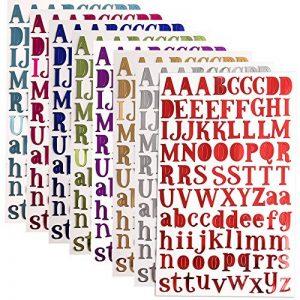 stickers lettres TOP 8 image 0 produit