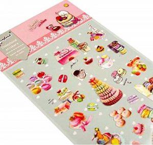 stickers macarons TOP 12 image 0 produit