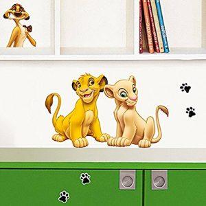 Stickers Mural enfants Simba (DISNEY) Nouvelles Images de la marque NOUVELLES-IMAGES image 0 produit