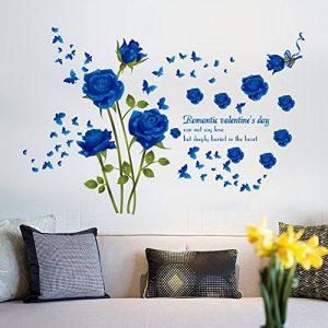 stickers muraux bleu TOP 11 image 0 produit
