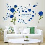 stickers muraux bleu TOP 11 image 1 produit