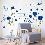 stickers muraux bleu TOP 11 image 4 produit