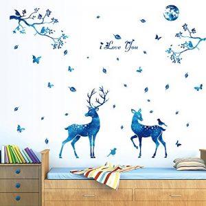 stickers muraux bleu TOP 12 image 0 produit