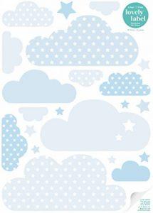 stickers muraux bleu TOP 13 image 0 produit