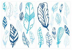 stickers muraux bleu TOP 6 image 0 produit