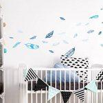 stickers muraux bleu TOP 6 image 1 produit