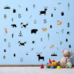 stickers muraux bois TOP 12 image 1 produit