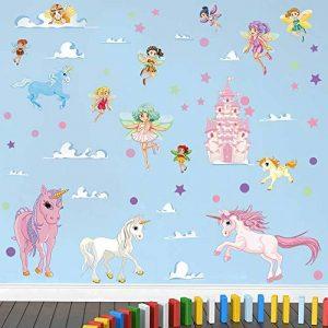 stickers muraux chambre bébé fille TOP 10 image 0 produit