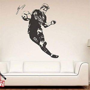 stickers muraux citations love Lionel Messi Joueur de foot Argentine Déco Leo Creativ Décoration d'intérieur de la marque erhfgd image 0 produit