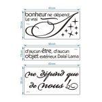 Stickers muraux citations ; notre comparatif TOP 8 image 3 produit