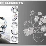 Stickers muraux CUISINE 30 couleurs au choix Afrique paysage animal arbre waf07(070 noire, set1:ca.60x16 cm ) de la marque Inconnu image 3 produit