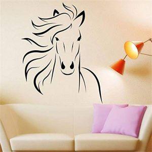 stickers muraux enfants spiderman Cheval Mustang pour le salon de la chambre de la marque mecone image 0 produit