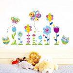 stickers muraux fleurs TOP 5 image 1 produit