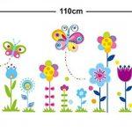 stickers muraux fleurs TOP 5 image 3 produit