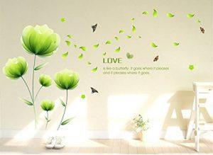 stickers muraux fleurs TOP 7 image 0 produit