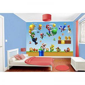 Stickers muraux géant Mario 15193 - 187x130cm de la marque Stickers-Enfant image 0 produit