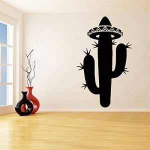 stickers muraux grand format Salle de séjour écologique Cactus Flower Sombrero pour Windows de la marque zehuan image 0 produit
