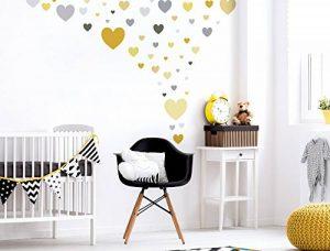 stickers muraux gris TOP 6 image 0 produit