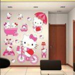 stickers muraux hello kitty TOP 1 image 1 produit