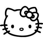 stickers muraux hello kitty TOP 2 image 1 produit