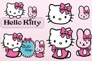 stickers muraux hello kitty TOP 7 image 0 produit