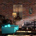 Stickers muraux, hunpta 3D mur papier brique effet pierre autocollant adhésif mur décoration salle (A) de la marque hunpta image 4 produit