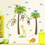 stickers muraux jungle TOP 9 image 1 produit