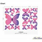 stickers muraux papillons TOP 8 image 2 produit