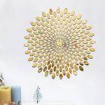 stickers muraux rond doré TOP 5 image 1 produit